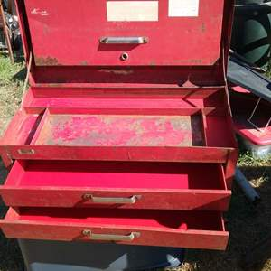 Lot #LH125 - Red Kennedy Toolbox