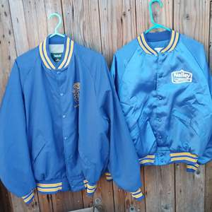 Lot #LH126 - Vintage Nalley Baseball Style Jackets & more