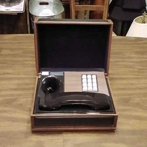 Lot #LH139 - MCM Deco-Tel Executive Phone in a Box  TESTED AND WORKING