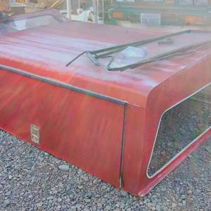 Lot # MW156 - Truck Work Canopy with Tool Shelves with Locking Doors