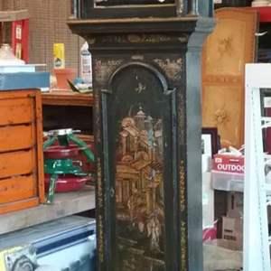 Lot #EL197 - Antique Early 1800s Grandfather Clock Body