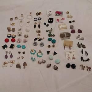 Lot #EL201 - Earrings Jewelry Lot