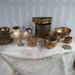 Lot #D223 - Bronze, Copper, Metal Lot