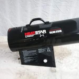 Lot #MW233 - ENERCO Heat Star 10,000 BTU Outdoor Heater Blower