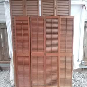 Lot #MW236 - Bi-Fold Doors