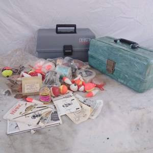 Lot #MW238 - Tackle Boxes and Lures PLANO & FLAMBEAU