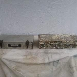 Lot #MW239 - Two Metal Tool Boxes