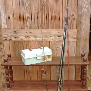 Lot #D242 - Fishing Poles!