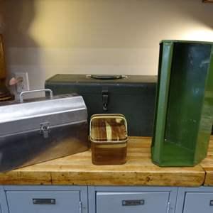 Lot #EL246 - Kennedy Tool Box K-20 plus more