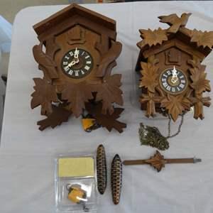 Lot #EL247 - Cookoo Clocks E. Schmeckenbechen