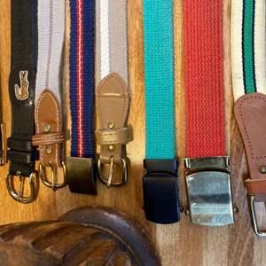 Lot #EL274 - Lot of Vintage Belts