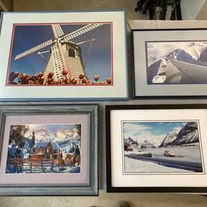 Lot #EL280 - Professional Framed Photography #5