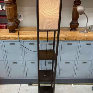 "Lot #EL285 - 3 Shelf Floor Lamp 62.5"" x 10"""