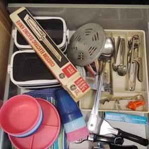 Lot #MW320 - Kitchen Bottom Drawer of Great Stuff