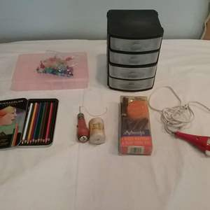 Lot #LH338- Hobby and Art Supplies.