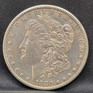 Lot 1 - 1880-S Morgan Silver Dollar