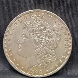 Lot 3 - 1898 Morgan SILVER Dollar
