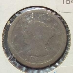 Lot 43 - 1949 RARE US Large Cent