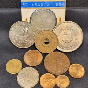 Lot 72 - Vintage Arabic Coin Collection