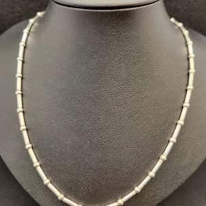 """Lot 81 - Vintage 16"""" Sterling Silver Necklace, stamped 925"""