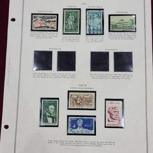 Lot 97 - 1958, 1959 US Stamp Collection