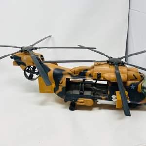 Lot #4 - Vintage Hasbro G.I. Joe Tomahawk Helicopter