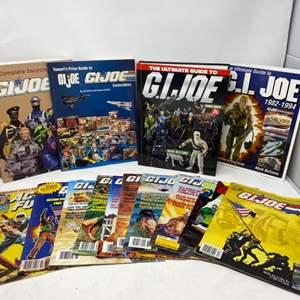 Lot #18 - The Ultimate Guide To G.I. Joe 1982-1994, Tomart's Price Guide to G.I. Joe, The Complete Encyclopedia of G.I. Joe