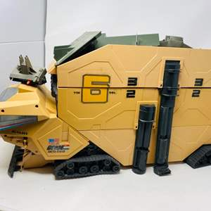 Lot #19 - Vintage 1987 Hasbro G.I. Joe Mobile Command Center Vehicle Playset