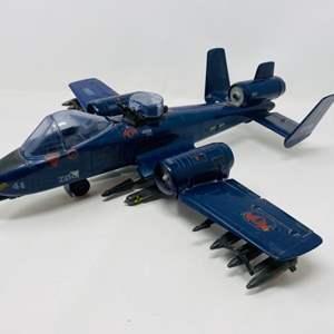 Lot #26 - Vintage 1984 Hasbro G. I. Joe Cobra Rattler Jet Plane Z06
