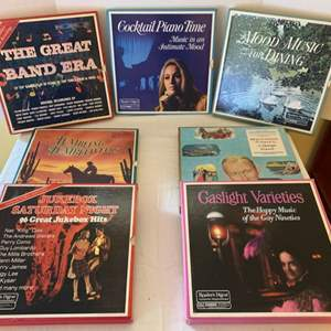 Lot #68 - Vintage Reader's Digest Pleasure Programmed RCA Custom Dynagroove Music, Gaslight Varieties, Jukebox Saturday Night
