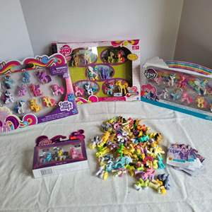 Lot #73 - My Little Pony: Spa Pony Set, Loose Ponies, Cutie Mark Magic, Friends Forever