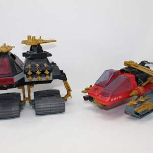 Lot #89 - 1988 Hasbro G. I. Joe Destro's Demon Vehicle and Vintage G. I. Joe Destro's Dominator