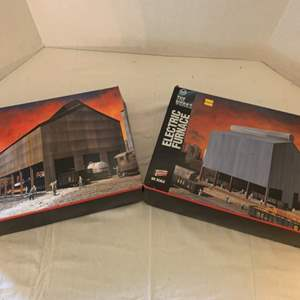 Lot #118 - Walthers Cornerstone Series USS The Works Electric Furnace and Rolling Mill HO Scale