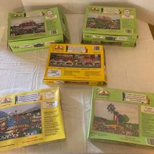 Lot #152 - Vintage Carnival HO Scale Carnival Rides Hobby Kits
