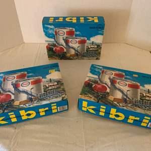 Lot #153 - Kibri Vintage HO Scale Building Kits, Made in Germany