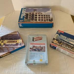 Lot #154 - Vintage Cornerstone HO Scale Building Hobby Kits