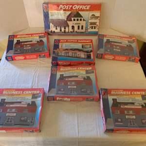 Lot #155 - Vintage Life-Like HO Scale Building Kits