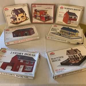 Lot #156 - Vintage Model Power HO Scale Building Kits