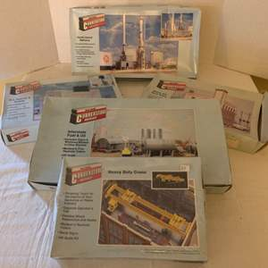 Lot #158 - Vintage Walthers Cornerstone Series HO Scale Hobby Building Kits
