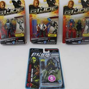 Lot #162 - G.I. Joe Action Figures, New in Package