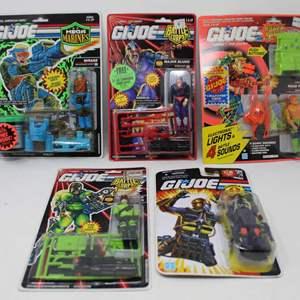 Lot #166 - New in Package G.I. Joe Battle Corp, Mega Marines, Cobra Figures
