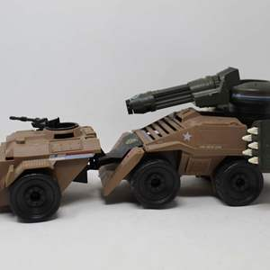 Lot #169 - Hasbro Vintage 1988 G.I. Joe Mean Dog Tank Vehicle