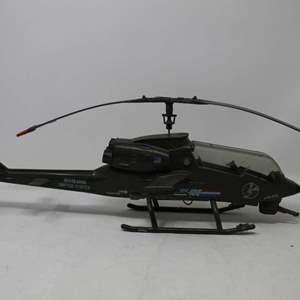 Lot #174 - Vintage 1983 Hasbro G.I. Joe Dragonfly XH-1 Helicopter