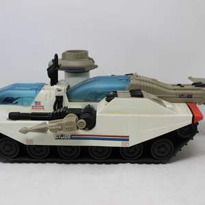 Lot #175 - Vintage G.I. Joe 1980's Cobra Avalanche Snow White Tank, Cold Front