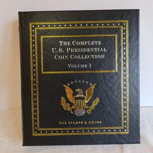 """Lot #189 - """"The Complete Presidential Coin Collection Volume I"""", Incomplete Set, There are 15 Coins"""