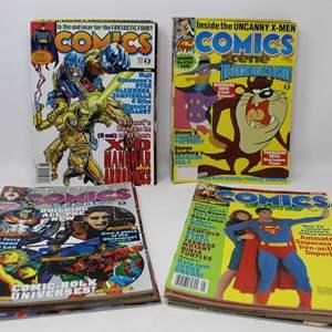 Lot #190 - Great Selection of Vintage 1990's Comics Scene Magazines