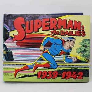 Lot #193 - Superman The Dailies: Strips 1-966, 1939-1942. Published 2006