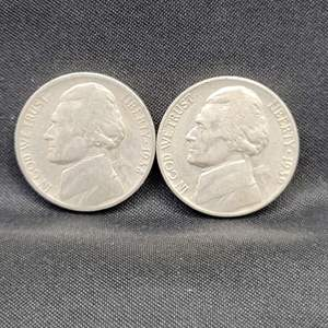 Lot 46 - 1938, 1939 KEY DATES First and Second year of issue Jefferson Nickels