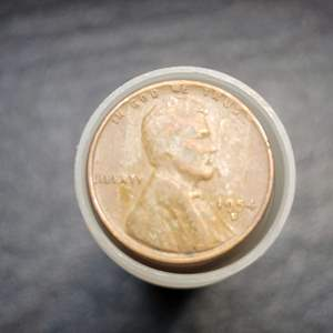 Lot 57 - Roll Lincoln Wheat Cents Mixed Dates