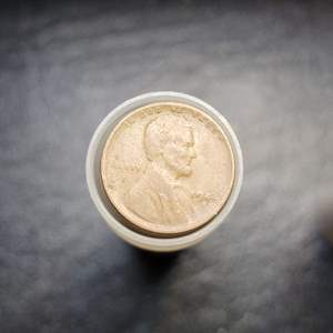 Lot 58 - Roll Lincoln Wheat Cents Mixed Dates